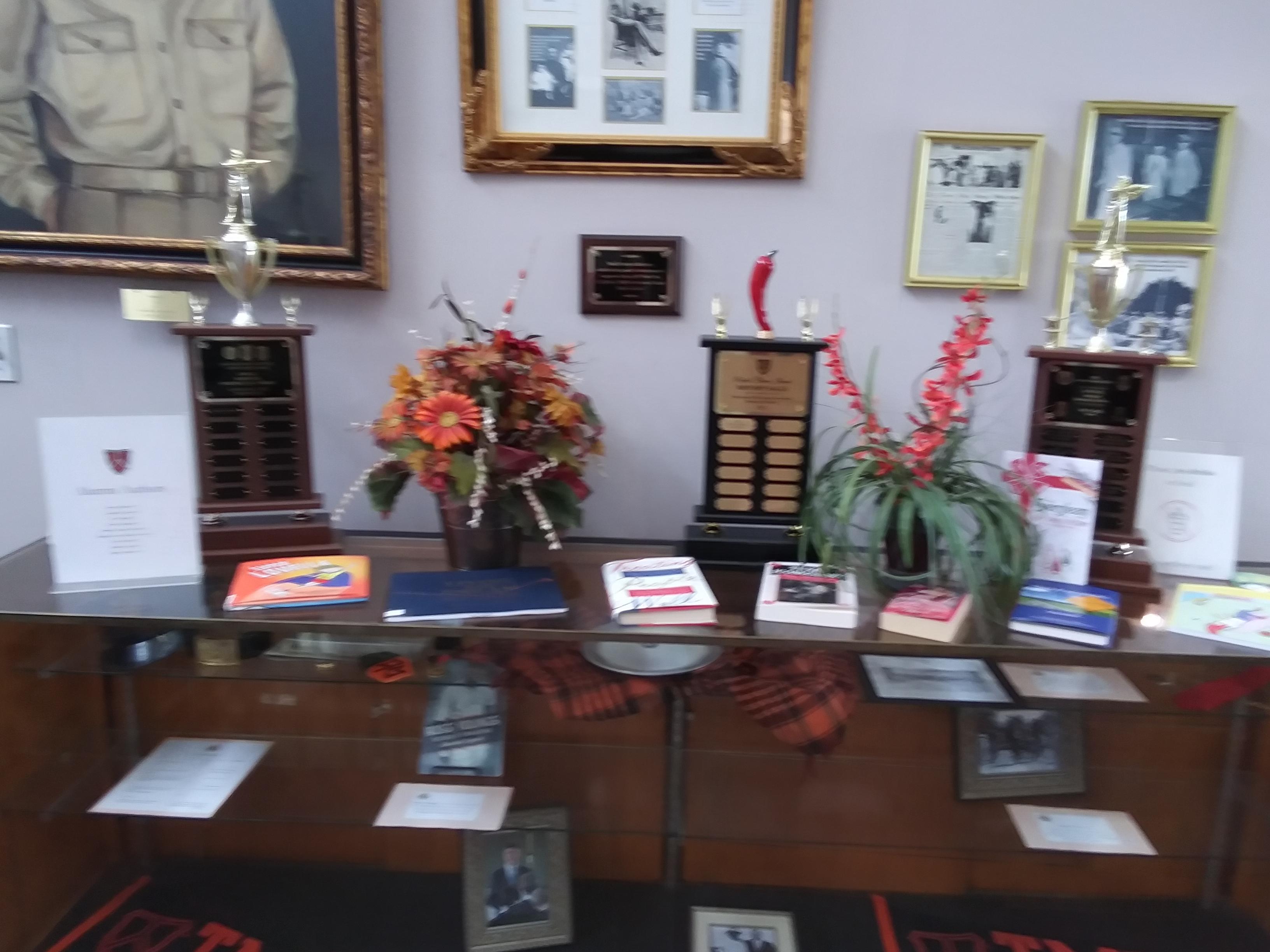 Alumni authors display.jpg