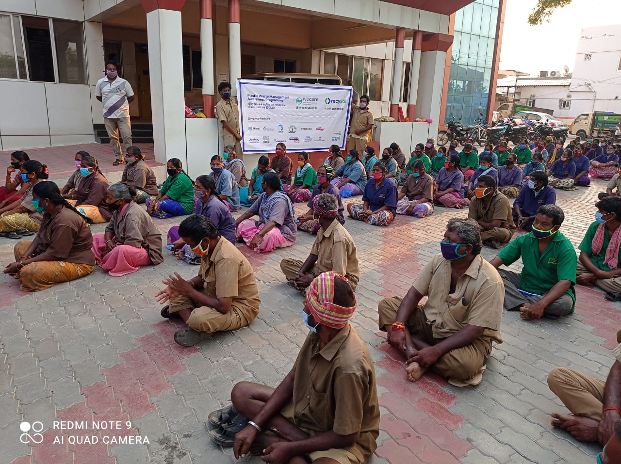 Awareness program by WeCare in association with Recykal at a DRCC in Tamil Nadu