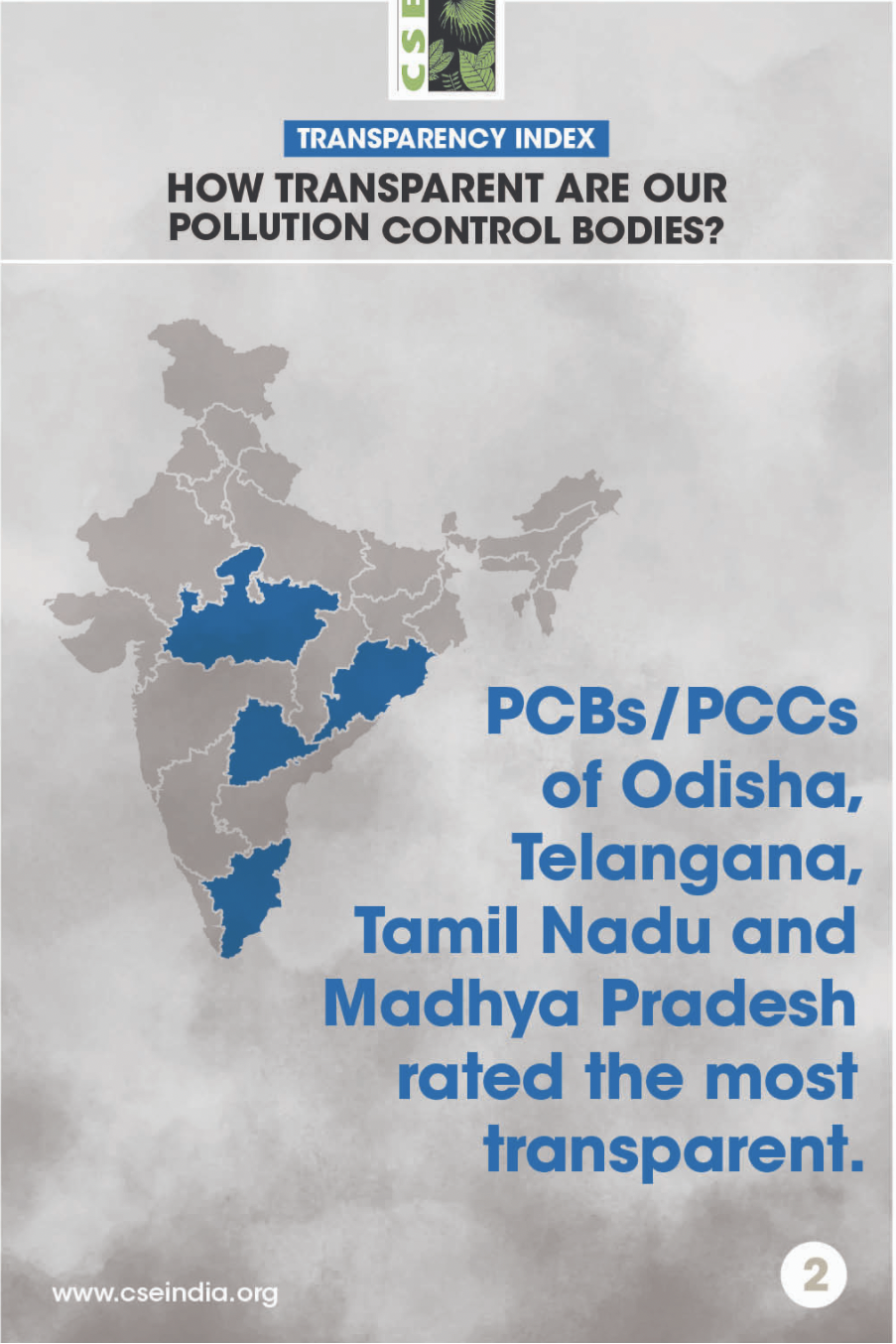 Transparency Index rating for PCBs/PCCs in India